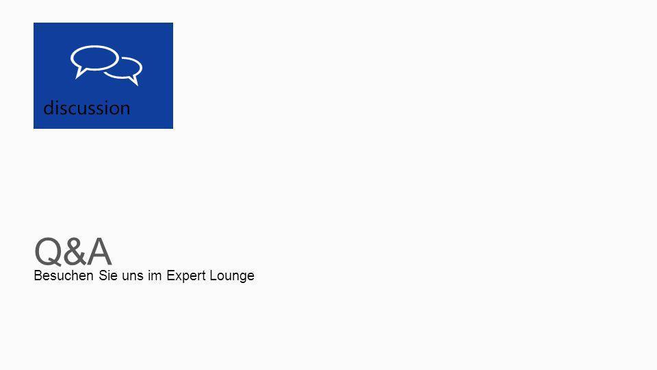 Besuchen Sie uns im Expert Lounge