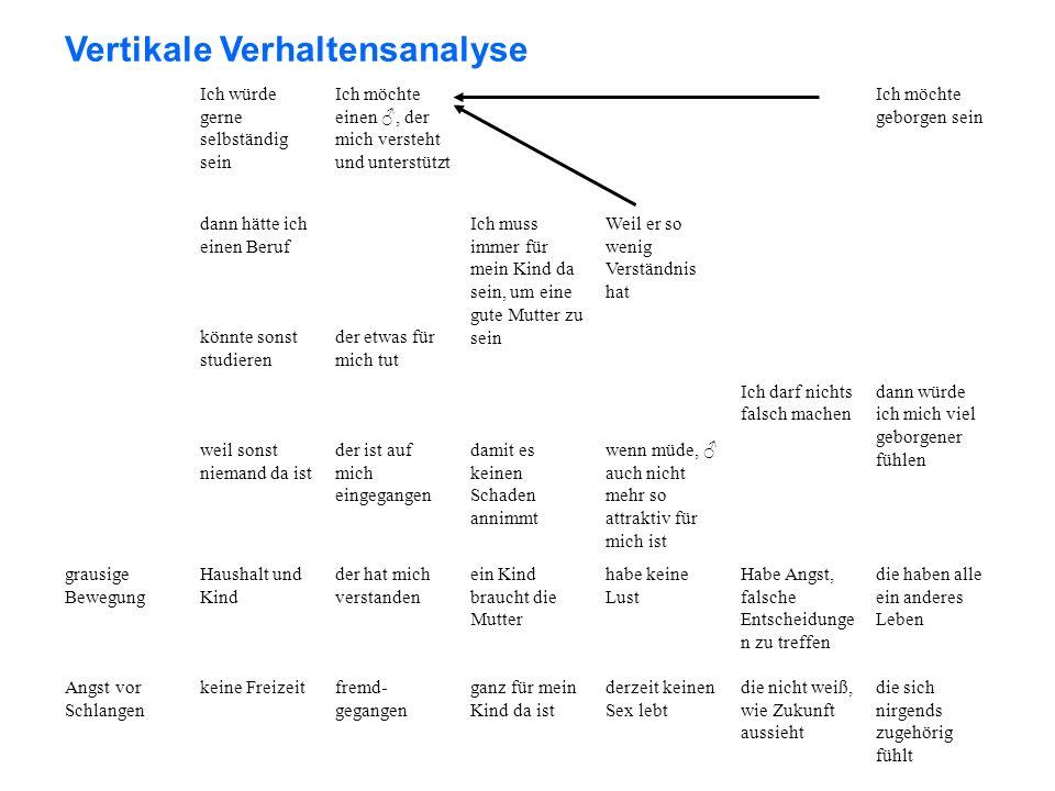 Vertikale Verhaltensanalyse