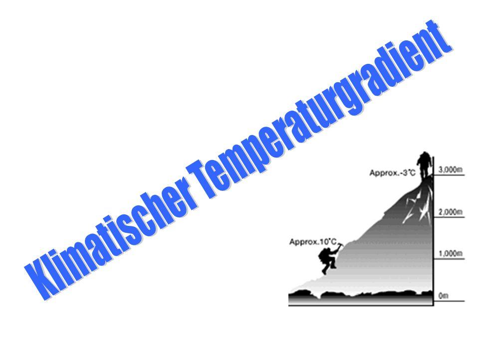 Klimatischer Temperaturgradient