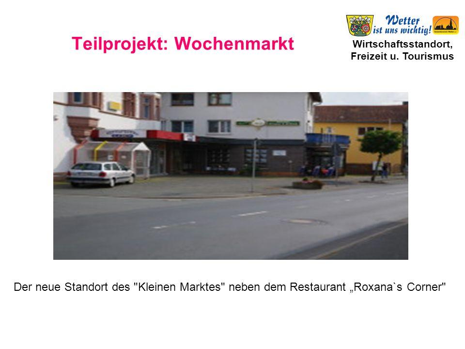 Teilprojekt: Wochenmarkt