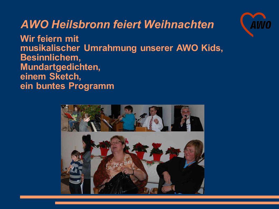 AWO Heilsbronn feiert Weihnachten