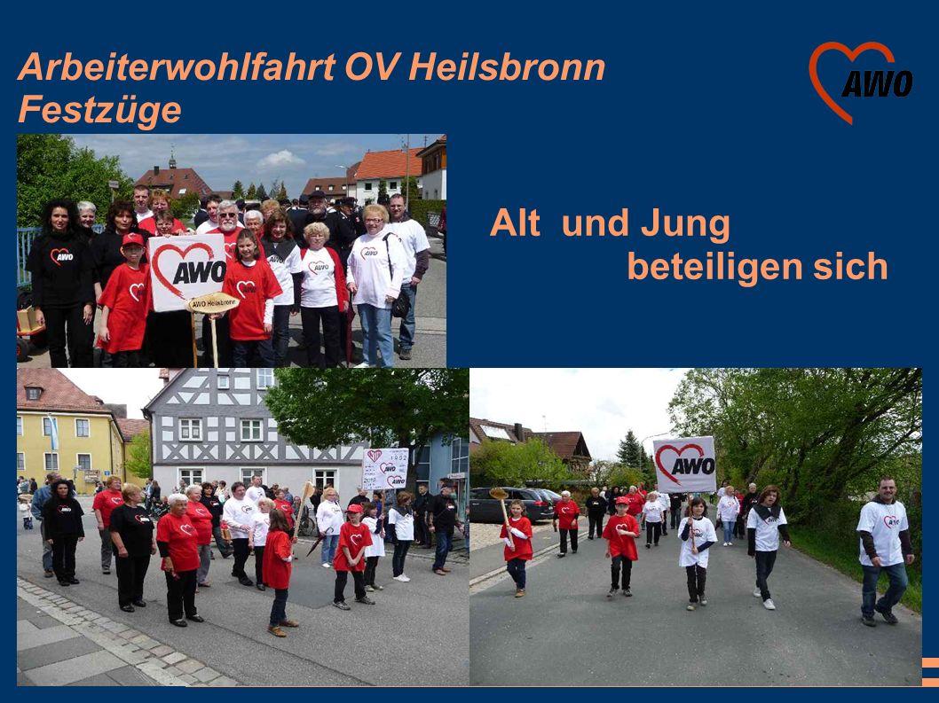Arbeiterwohlfahrt OV Heilsbronn Festzüge