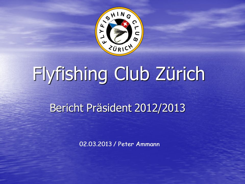 Flyfishing Club Zürich