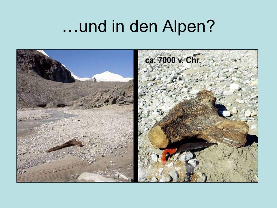 …und in den Alpen