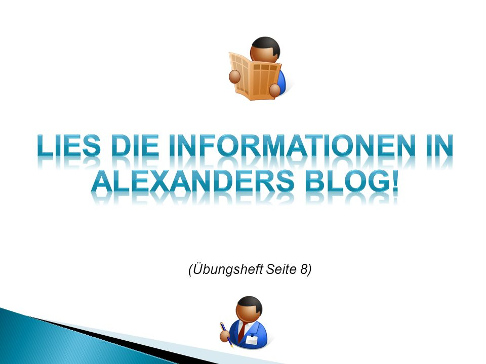 Lies die informationen in