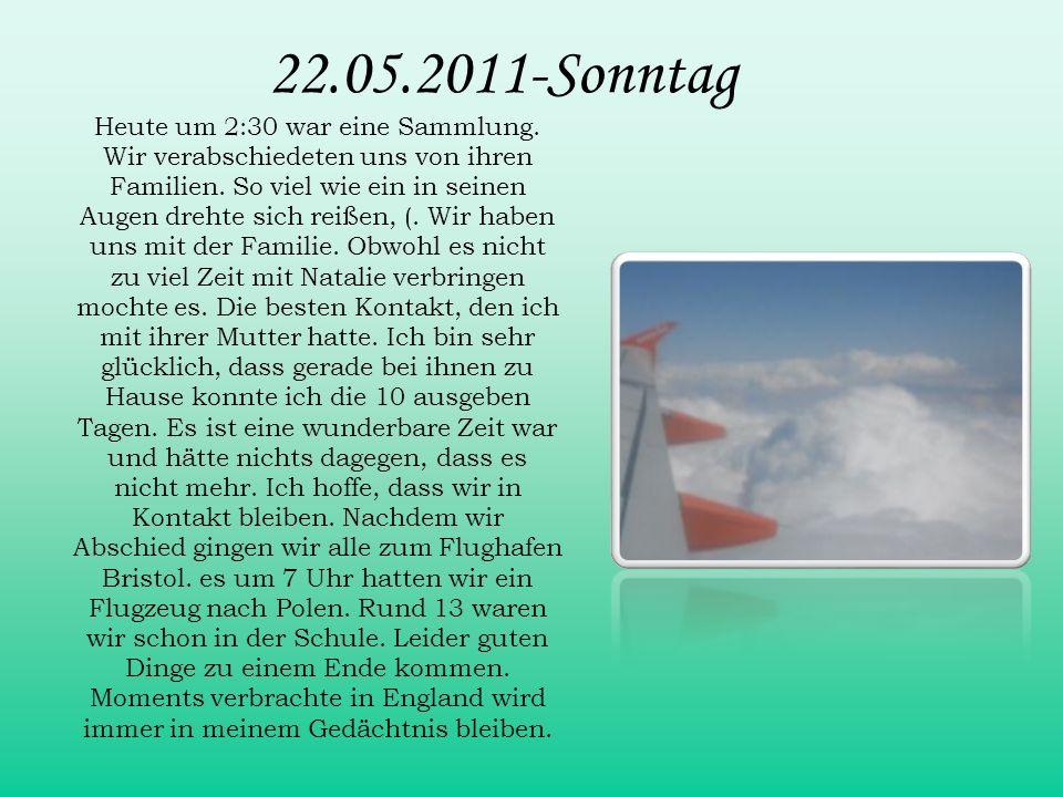 22.05.2011-Sonntag