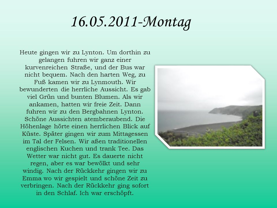 16.05.2011-Montag