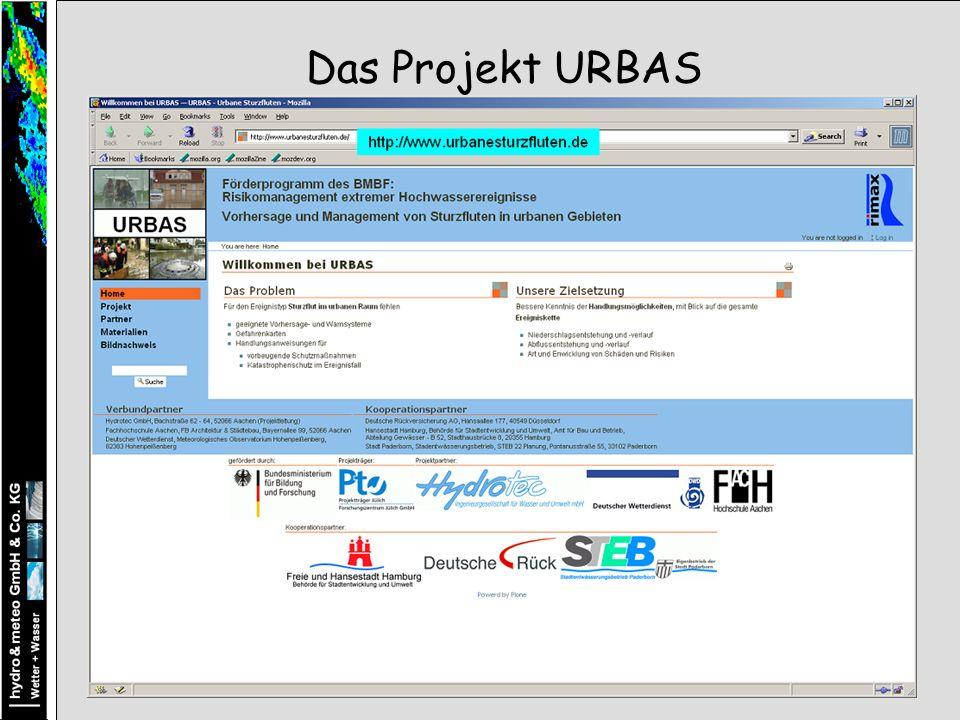 Das Projekt URBAS
