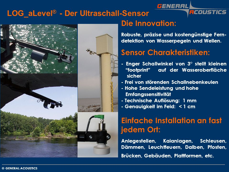 LOG_aLevel® - Der Ultraschall-Sensor