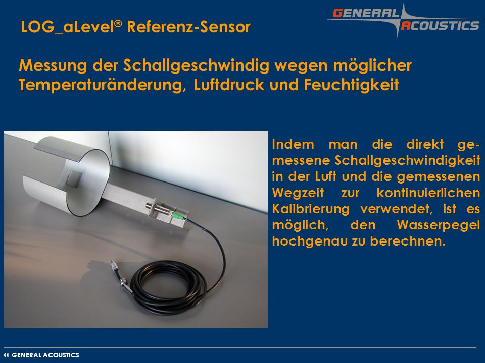 LOG_aLevel® Referenz-Sensor