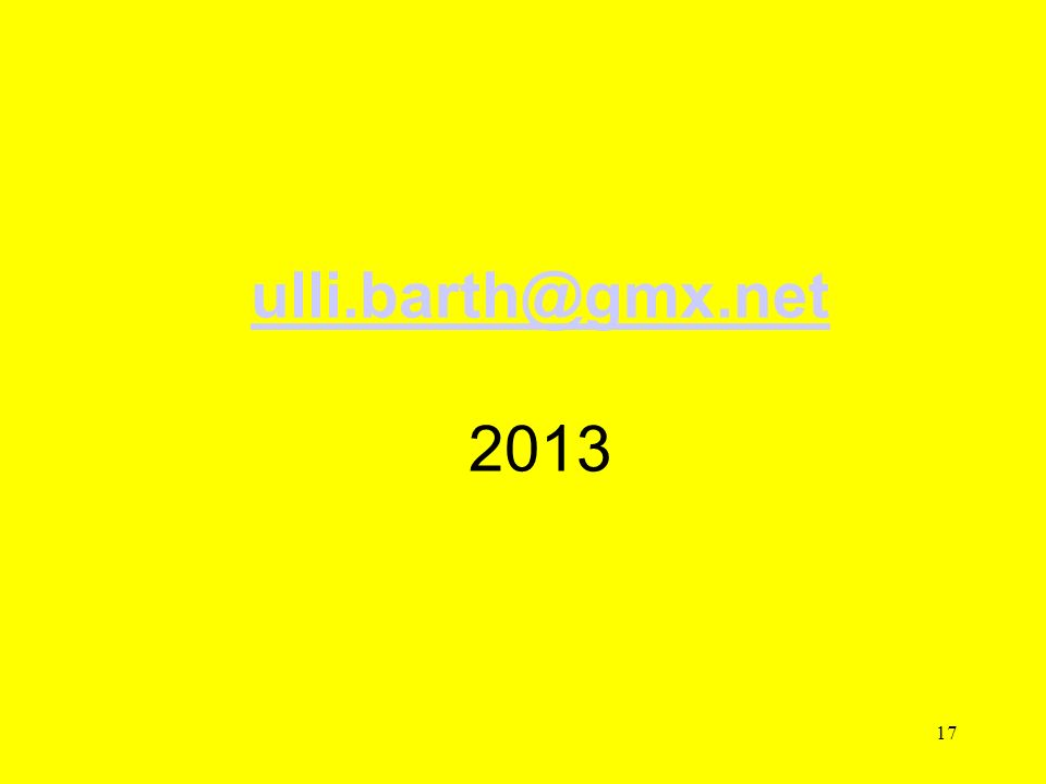 ulli.barth@gmx.net 2013