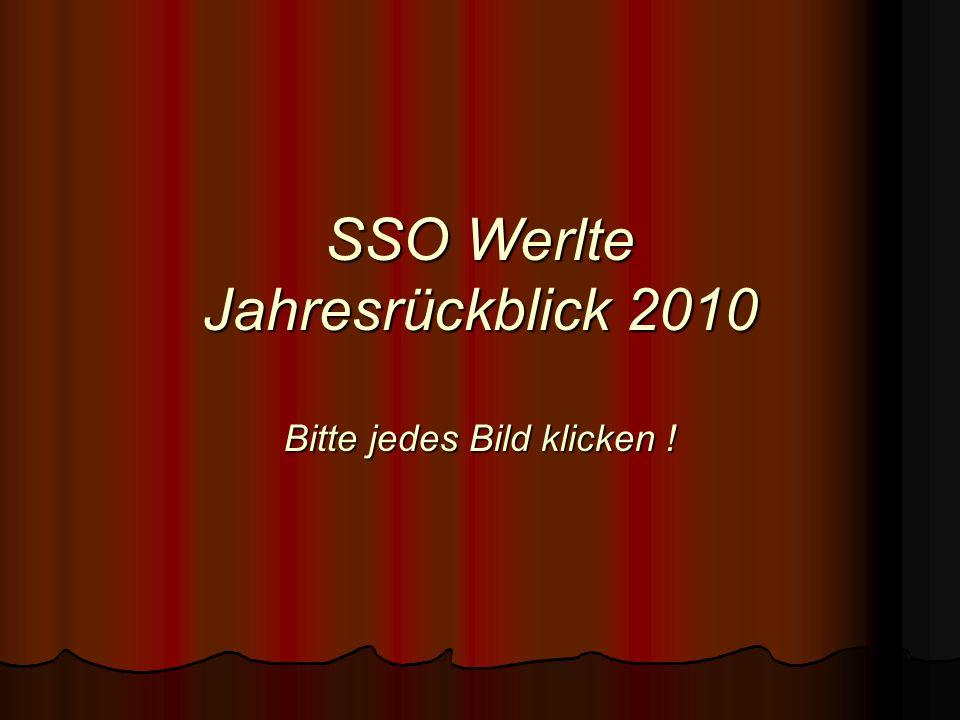 SSO Werlte Jahresrückblick 2010 Bitte jedes Bild klicken !
