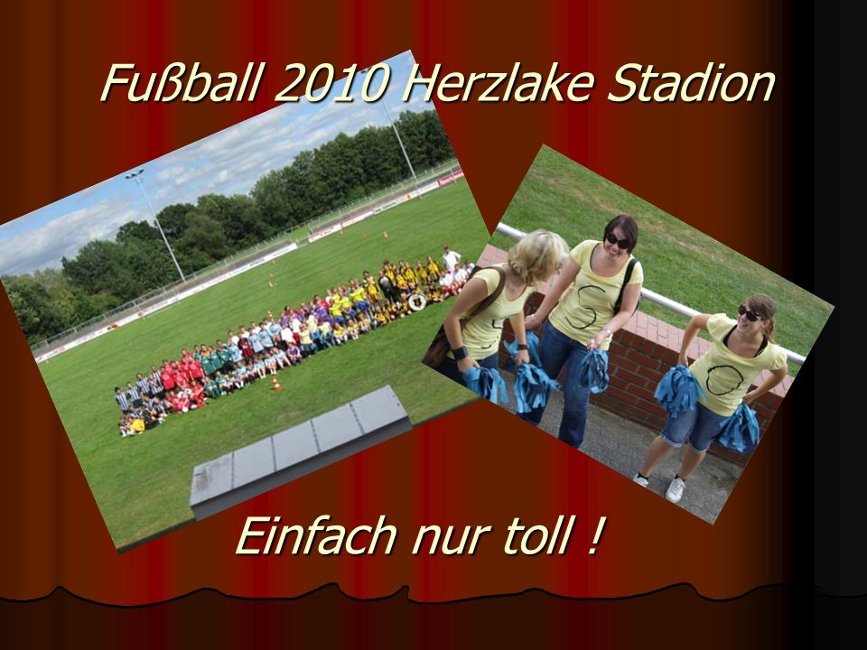 Fußball 2010 Herzlake Stadion