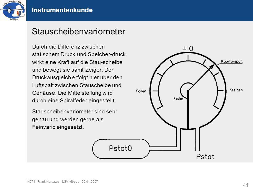 Stauscheibenvariometer