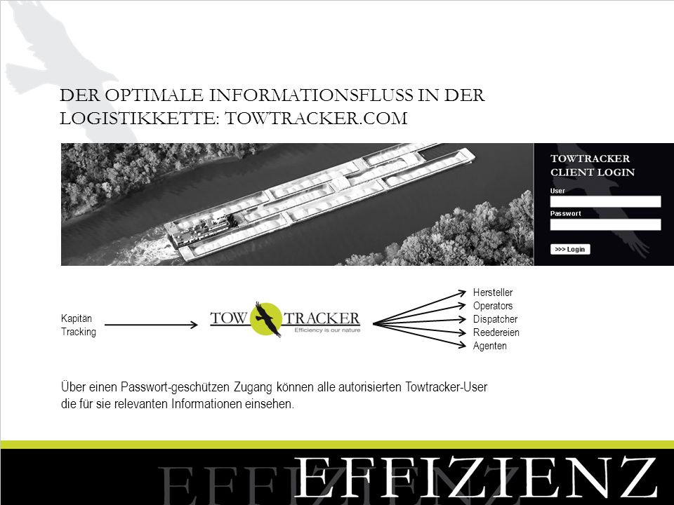 Der optimale Informationsfluss in der Logistikkette: Towtracker.com