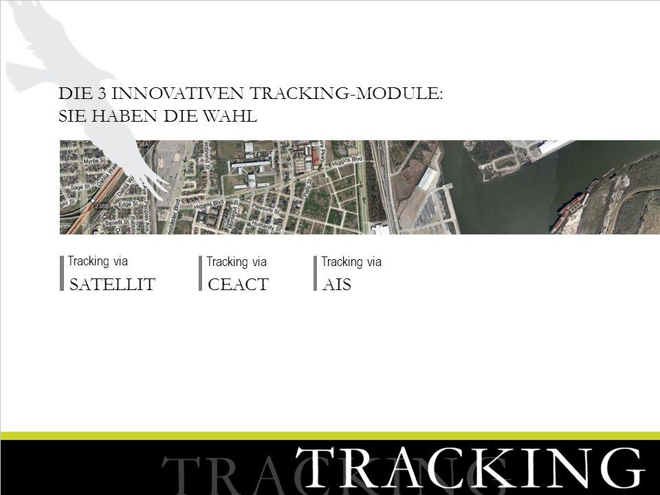 Die 3 innovativen Tracking-Module: Sie haben die Wahl