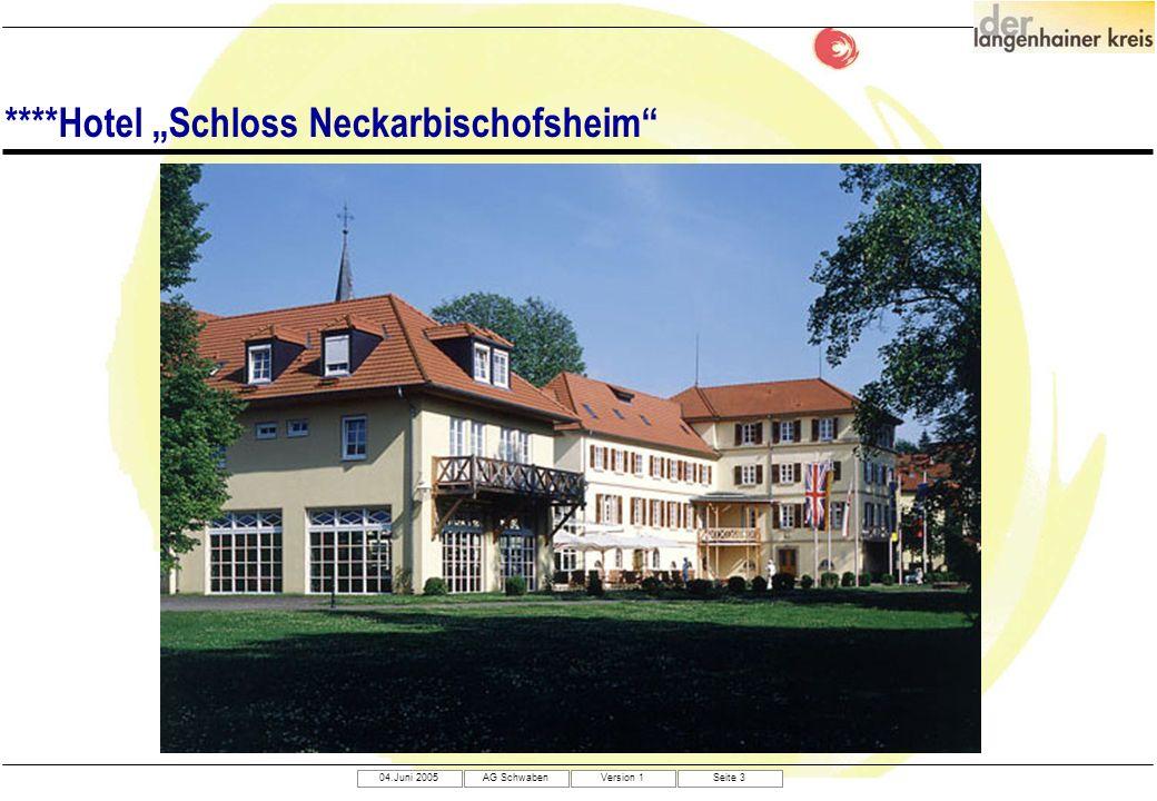 "****Hotel ""Schloss Neckarbischofsheim"