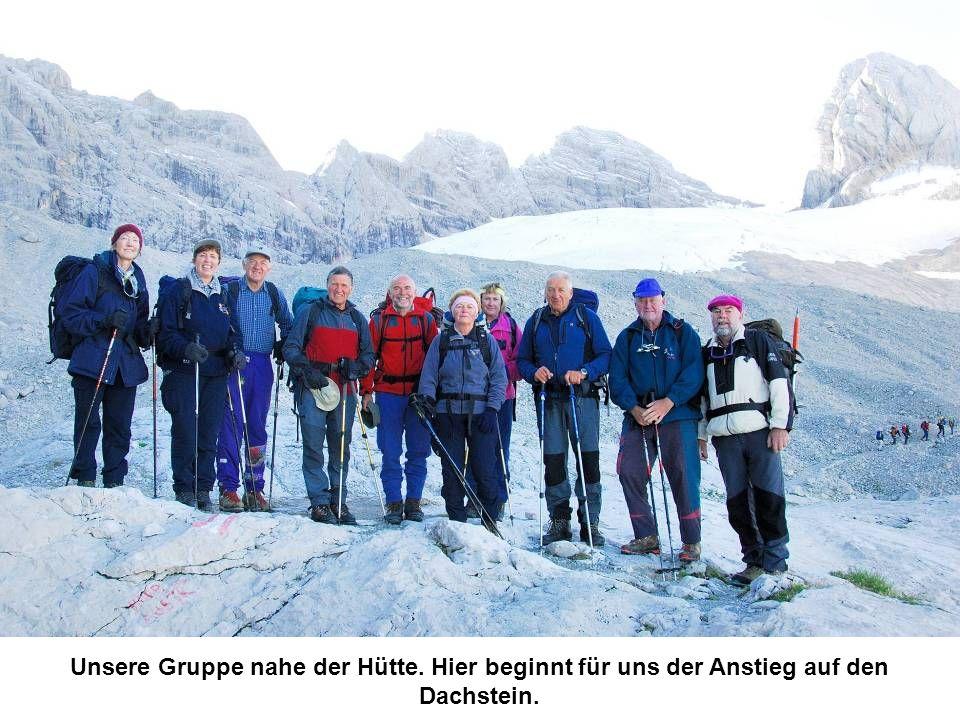 Unsere Gruppe nahe der Hütte
