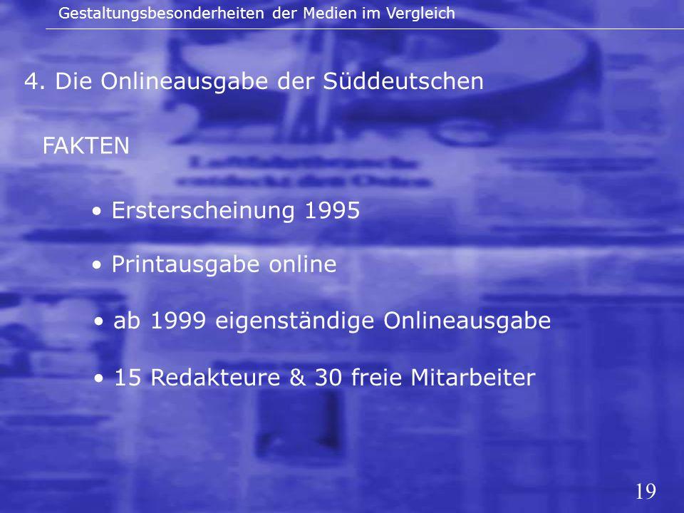 4. Die Onlineausgabe der Süddeutschen