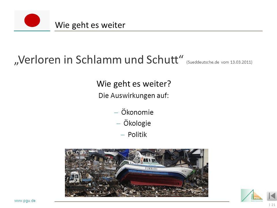 """""""Verloren in Schlamm und Schutt (Sueddeutsche.de vom 13.03.2011)"""
