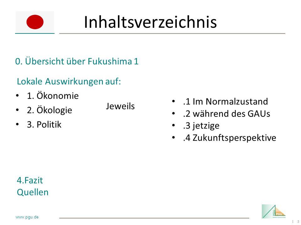 Inhaltsverzeichnis 0. Übersicht über Fukushima 1