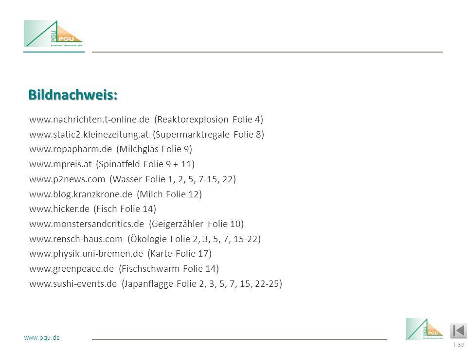 Bildnachweis: www.nachrichten.t-online.de (Reaktorexplosion Folie 4)