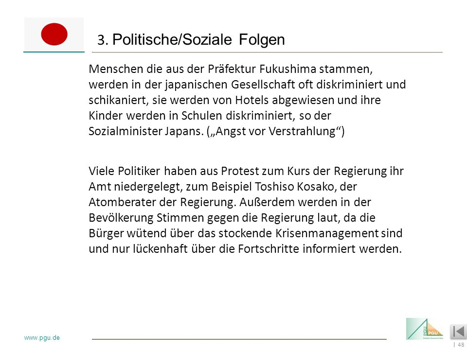 3. Politische/Soziale Folgen