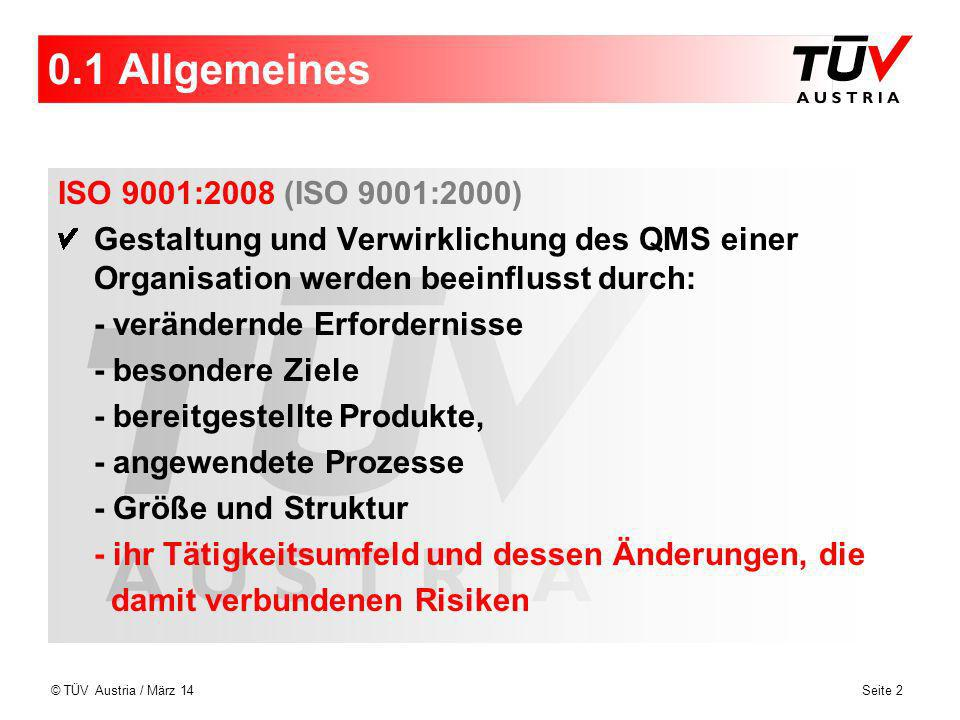 0.1 Allgemeines ISO 9001:2008 (ISO 9001:2000)