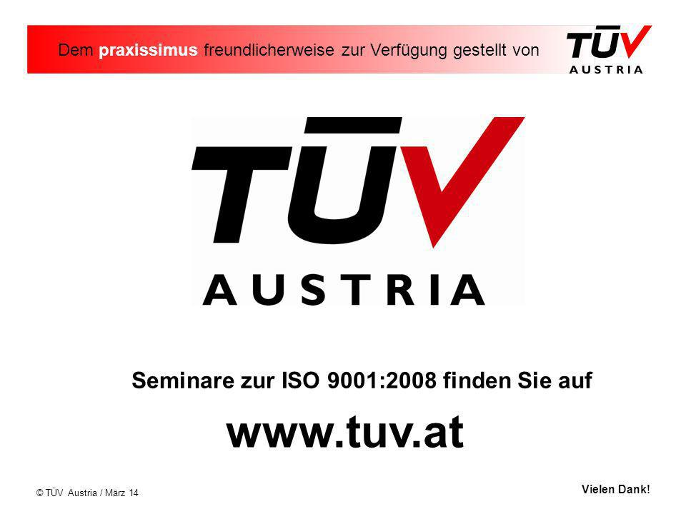 Seminare zur ISO 9001:2008 finden Sie auf