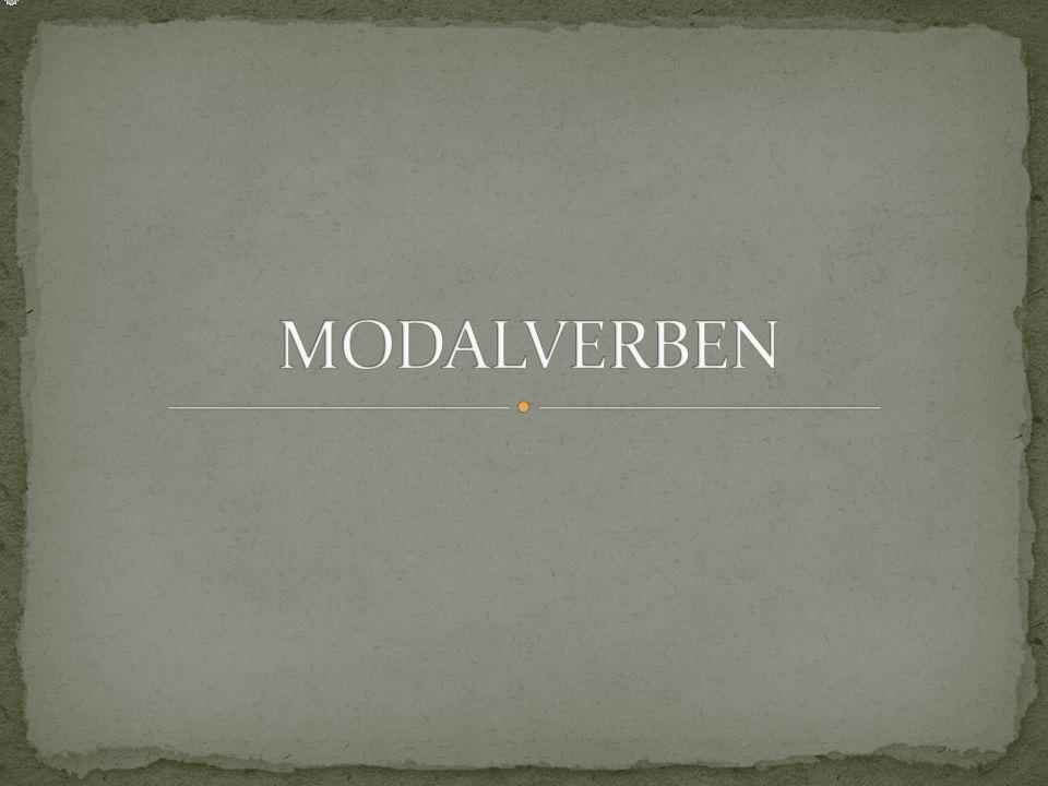 MODALVERBEN