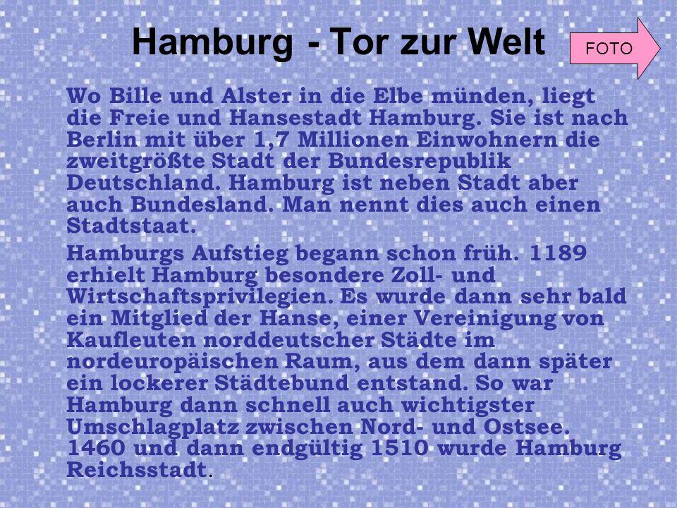 Hamburg - Tor zur Welt FOTO.