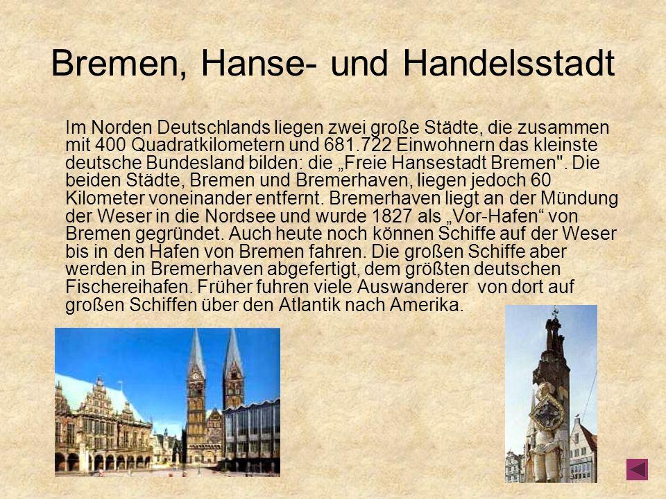 Bremen, Hanse- und Handelsstadt