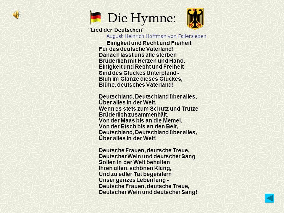 Die Hymne: Lied der Deutschen