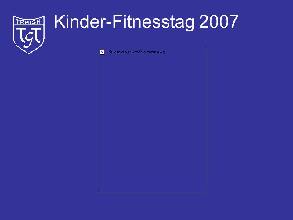 Kinder-Fitnesstag 2007