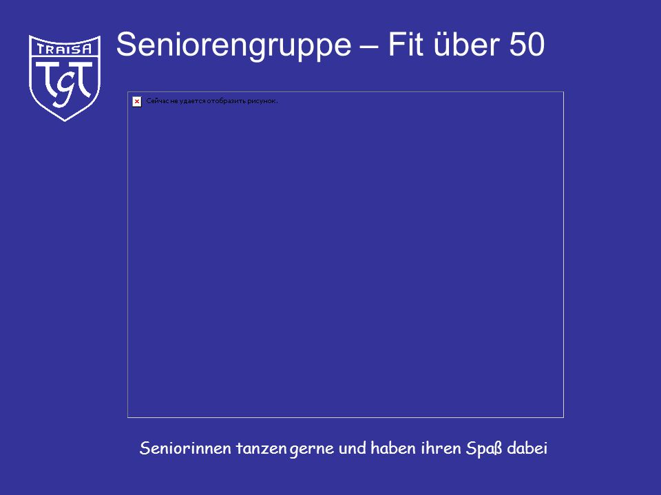 Seniorengruppe – Fit über 50