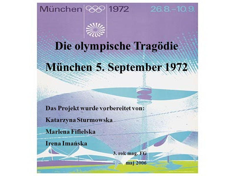 Die olympische Tragödie