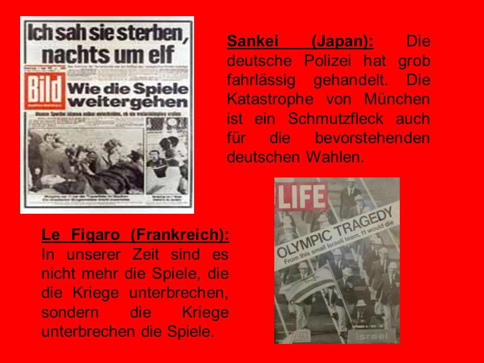Sankei (Japan): Die deutsche Polizei hat grob fahrlässig gehandelt