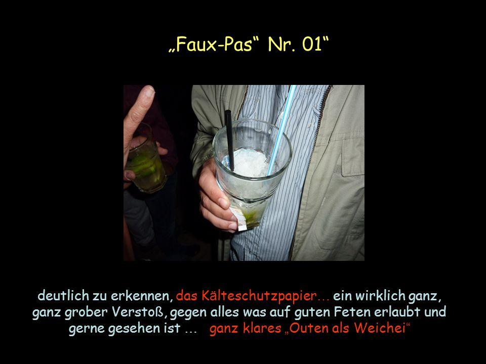 """""""Faux-Pas Nr. 01"""