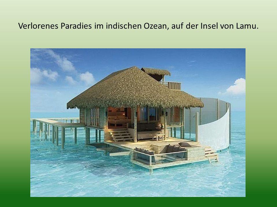Verlorenes Paradies im indischen Ozean, auf der Insel von Lamu.