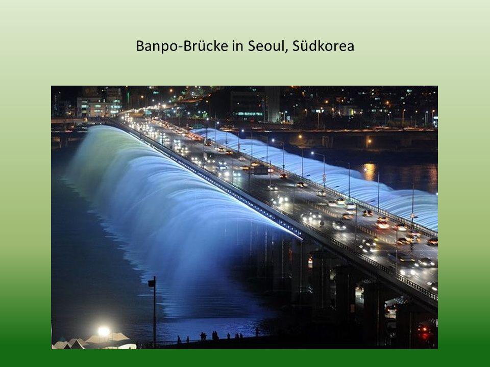 Banpo-Brücke in Seoul, Südkorea