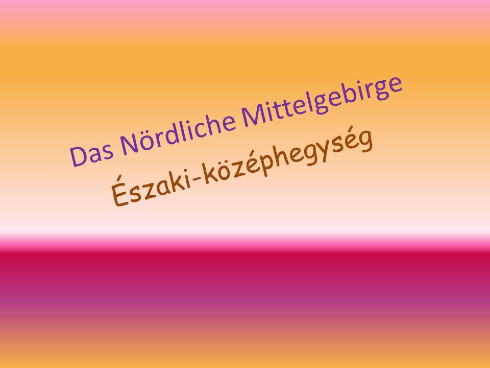 Das Nördliche Mittelgebirge