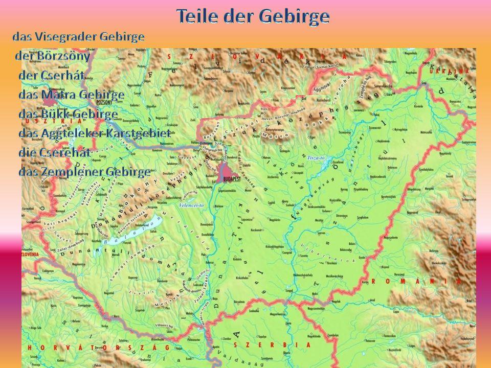 das Visegrader Gebirge das Aggteleker Karstgebiet