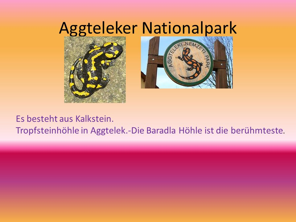 Aggteleker Nationalpark