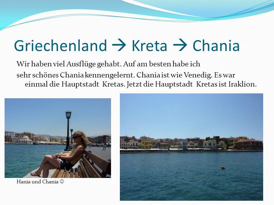Griechenland  Kreta  Chania