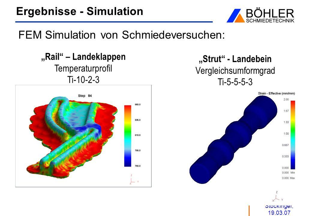 Ergebnisse - Simulation