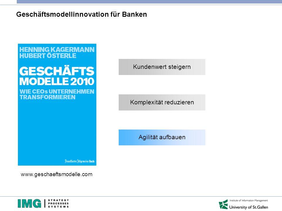 Geschäftsmodellinnovation für Banken