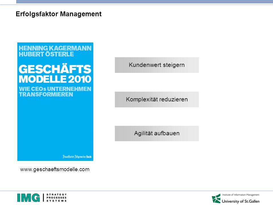 Erfolgsfaktor Management