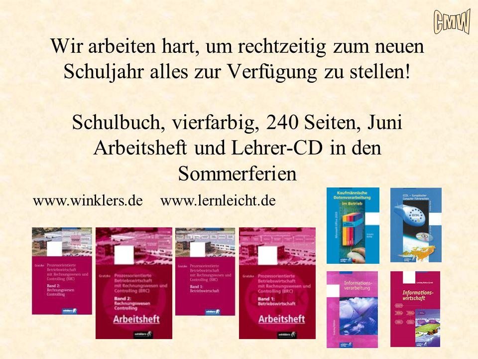 Wir arbeiten hart, um rechtzeitig zum neuen Schuljahr alles zur Verfügung zu stellen! Schulbuch, vierfarbig, 240 Seiten, Juni Arbeitsheft und Lehrer-CD in den Sommerferien