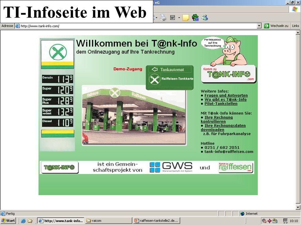 TI-Infoseite im Web UA