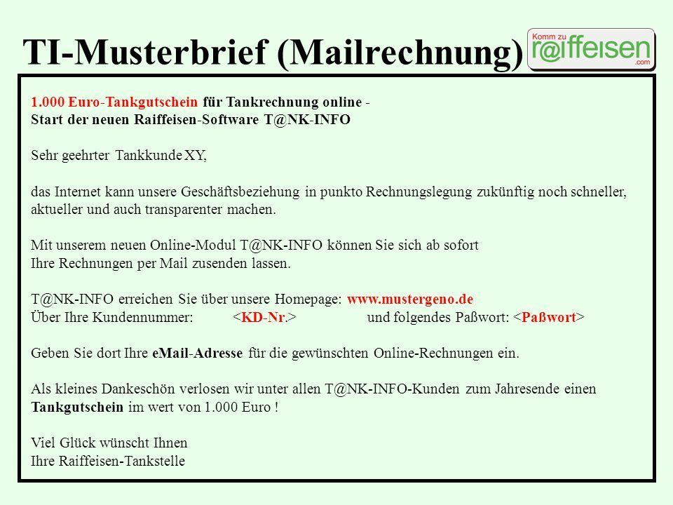 TI-Musterbrief (Mailrechnung)